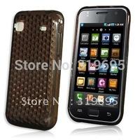 Diamond Brown Soft TPU Gel case Armor Skin Cover Protector For Samsung Galaxy S i9000 / i9002 / i9003