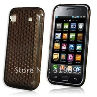 Diamond BLACK Armor Hydro Gel case Skin Cover Protector For  Samsung Galaxy S i9000/i9002/i9003