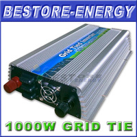 Free Shipping, GTI1000W, 1KW Grid Tie Inverter for Solar Panel (Max. PV Power 1200W), DC10.5~28V Input Micro On Grid Inverter