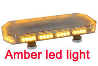 "High quality 24"" DC12V-30V 56W brightness Led Mini light bar/police warning lightbar with Cigarette lighter"