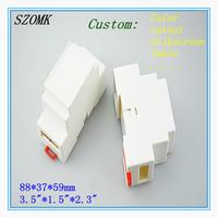 10 pieces  Small Plastic din-rail enclosure   88*37*59MM  3.5*1.5*2.3inch