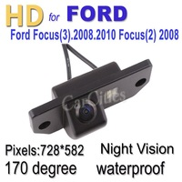 CCD car camera 170 degree for Ford Focus(3).2008.2010/Focus(2) 2008 Waterproof Shockproof Night version camera Drop Shipping