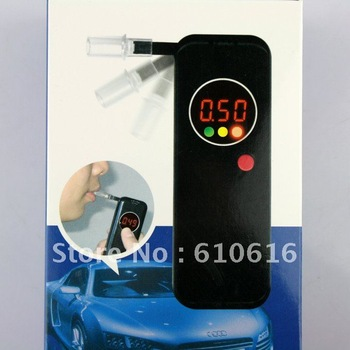 NEW LCD Police Digital Breath Alcohol Tester Breathalyzer
