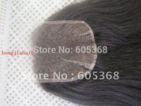 "natural colour no dye heavy density Brazilian virgin hair lace closure 16 inch 150% density size 6""x6"" light yaki hair"