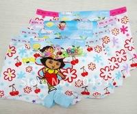 Wholesale Dora Cotton Girls Panties Underwear  Explorer Flower Kids Underpants Shorts Pants Colorful Boxer
