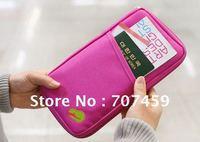 DHL Free shipping !wholesale 30pcs/lot  New Travel Passport Credit ID Card Cash Holder Organizer Wallet Purse Case Bag