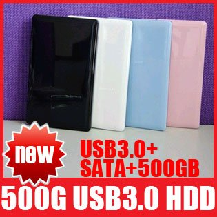 "500GB SATA USB 3.0 HDD 2.5"" External Hard Drive Disk 500 GB High Quality Free Shipping+Drop Shipping"
