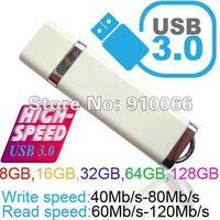 New  usb 3.0 real capacity 8G/16G/32G/64G usb flash memory  50pcs make cutomer LOGO high quality hot selling