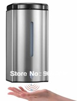 Hot sell WC kitchen bathroom 600ml wall hung 4xAA  batteries  IR infrared Sensor automatic touchless liquid soap dispenser
