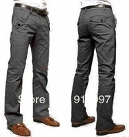 2014 hot sale new style high quality Men's casual pants shade cloth cotton pants slim mens pants size 28~36, 4 colors