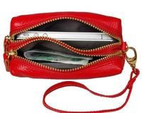 100% GENUINE LEATHER  fashion wallets key bag Coin Purses  VV01