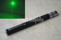 532P-10-GD Powerful 10mw 532nm Focusable Green Laser Pointer Pen