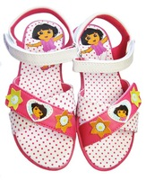 Free shipping Wholesale Summer, children's shoes  girls sandals Dora kids  sandal baby Candy colored