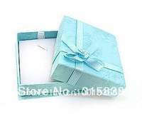Free shipping, Jewelry boxs wholesale, 8*6.5*2cm necklace pendant gift box .[ Color mix packaging ]