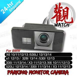 "HD CCD 1/3"" 2.4GHz Wireless Car Rear View Reverse backup parking Camera for BMW X3/X5/X6/X7/3/7 Series night vision waterproof"