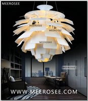 D500mm Free Shipping Louis Poulsen PH Artichoke Pendant Lamp Silver color Denmark Modern Suspension Pendant Light