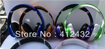 AAA QUALITY New colorful Studio Headphone High Definition Free shipping