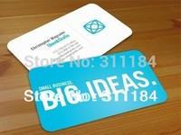 plastic pvc business card printing matt custom card printing