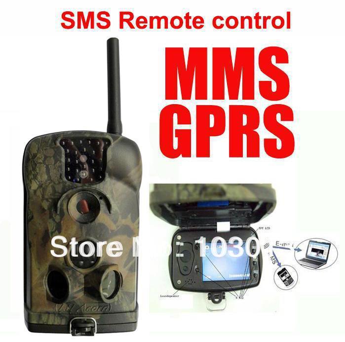 Ltl acorn 6210MG 6210MM 12MP 1080P HD MMS GPRS scouting trail camera hunting camera 6210M MMS game camera with external antenna(China (Mainland))