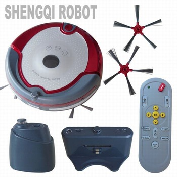 For Brazil (Free Shipping) Double Brushes Voice Prompt  Robot Vacuum Cleaner Robot