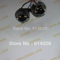 Car LED light bulb lamp  T10 194 W5W holder plug-in extension socket cable 20pcs/lot free shipping!