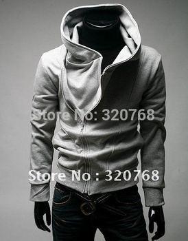 Free Shipping Hot High Collar Coat,Top Brand Men's Jackets,Men's Dust Coat,Men's Hoodeies ClothingColor:4 Colors M L XL XXL XXXL