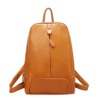 2014 Newest Brand imitation cowskin backpack/double shoulders bag/fashion and leisure backpack/school bag/free shipping