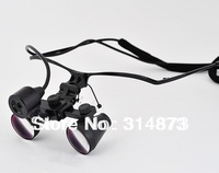Free Shipping 3.5X  HF350 Ultra-Light Metal Half frame Binocular Dental Loupes Surgical Loupes with SZ-1 Headlight