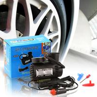 Free shipping,portable mini Car Auto 12V Electric Pump Air Compressor Tire Inflator