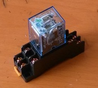 HongKong post mail Free shipping MY2NJ MY4NJ MY3NJ  middle relay small relay  12V/24V/110V/220V