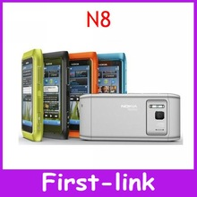 Original Nokia N8 3G WIFI GPS 12MP Touchscreen 3.5″ Unlocked Mobile Phone 16GB Internal Free Shipping One Year Warranty