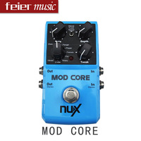 NUX Guitar Pedal MOD CORE , 8 modulation effects - Chorus, Flanger, Tremol high quality best guitar pedal