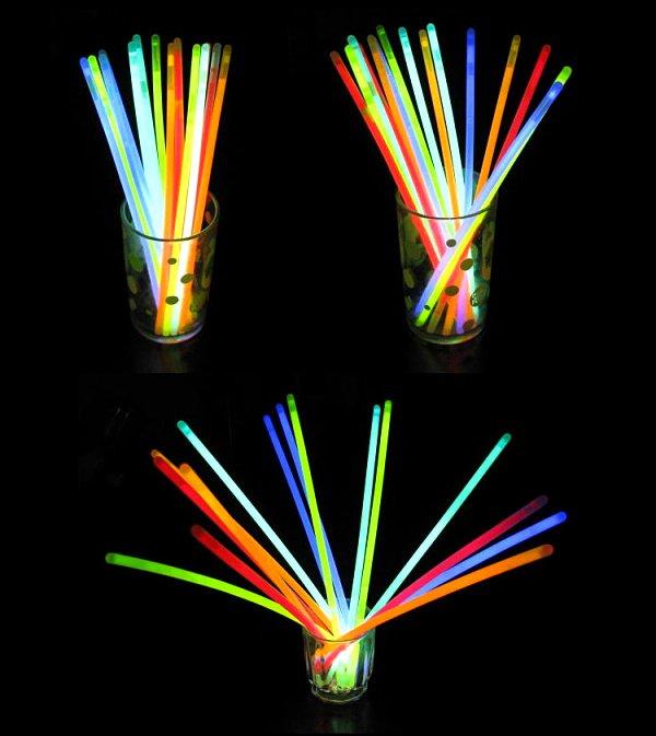 """200 pcs/lot, 200mm/8"""" Multi colors hot night glow stick,led color flashing bracelet lighting flash sticks festival items(Hong Kong)"""