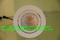 Professional! White Housing 9W/7W/5W COB Led Down Light Lamp Free Shipping