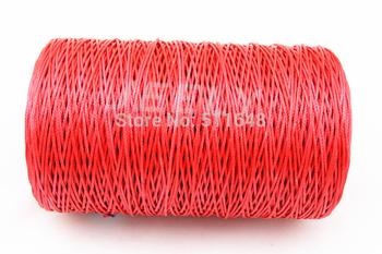Free Shipping 500m 500lb Yellow Color SL Dyneema fiber braid parachute rope 1.4mm 6 strands
