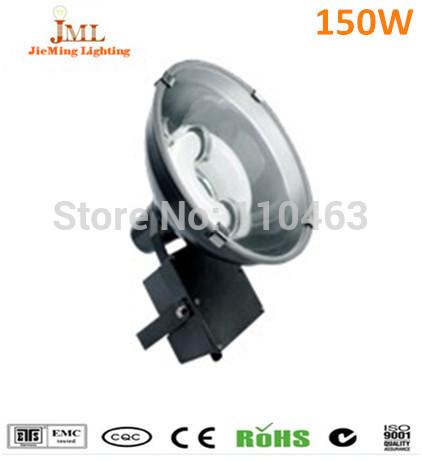 Lampe àinduction haute bay 150w flood mobilier 100 forme ronde, 000h tunnel de lumière,ip65,70~80lm/w, 3 ans de garantie