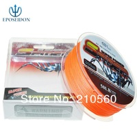 No.1 Quality&Service 4 Strand Red Color 300M Japan Multifilament Super Strong 100% PE Braid Fishing Line 20LB