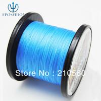 No.1 Quality&Service 4 Strand Blue Color 500M Japan Multifilament Super Strong 100% PE Braid Fishing Line 12LB