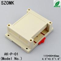 10 pieces a lot  Industrial control enclosure  115*90*40mm 4.5*3.5*1.6 inch  project enclosure