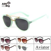 Brand + New 2014 SCREW UNDER Sunglasses Men Unisex Cycling Glasses 100%UV Protection Coating Sunglass With Peanut Box