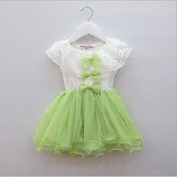 Free Shipping 4pcs/lot Wholesale 2013 Fashion Children's Tutu Baby Girl Dress