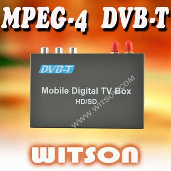 WITSON CAR DVB-T BOX (MPEG-4/H.264/AVC)