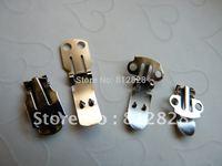 100pcs 25mm Lengh 15mm Wide Shoe Clips Blank Nickle FREE