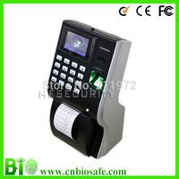 Biometric Fingerprint time attendance built-in thermal printer HF-P10