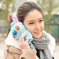 1pcs 3d  Idoll case for iphone 4 4s 4g Cartoon Plush doll cute phone case for iphone 4s
