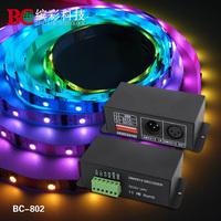 DMX512 Signal Decoder P9813 decdoer LED9813 IC strip signal decoder DMX512 decoder DMX controller