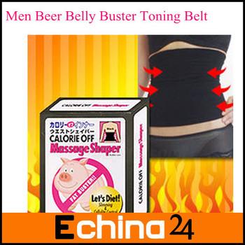 Men Beer Belly Buster Toning Belt Slimming Band Slimming Belt for Men Free Shipping