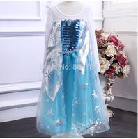 free shipping  2014 new FROZEN Girls dress