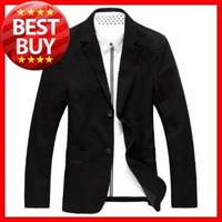 2013  F / W  Men's  Big Size(L-5XL)  Single Breasted Boutton  Business Suit  Coat  ,Men Blazer   G001