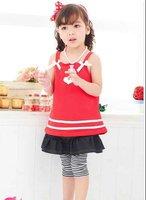 Girl dress/ Kid clothes/ Children sleeveless dress